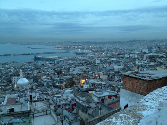 Blick über die Stadt Algier, Algerien. © A.B.